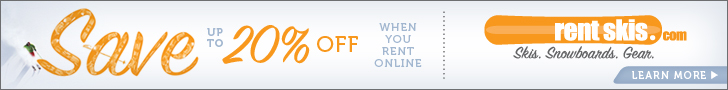 Rent Skis 20% off