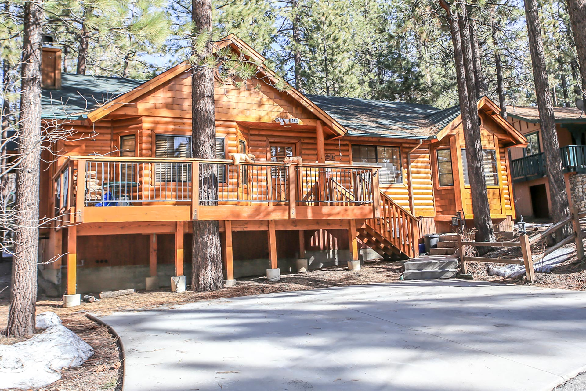 1662 retreat to fox farm ra155217 redawning Big bear lakefront cabins for rent