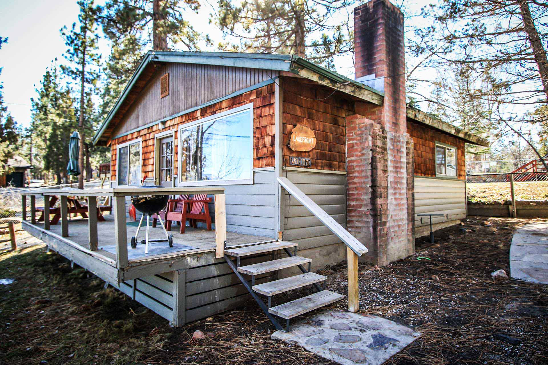 0110 lakefront ra2323 redawning Big bear lakefront cabins for rent