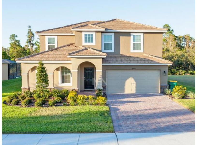 Rent now vacation home near walt disney world kissimmee fl ra57161 redawning for 7 bedroom vacation homes in kissimmee fl