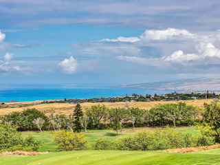 Condo with Ocean View! Right on a Golf Course & Minutes from the Beach!