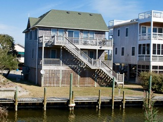 Canal front home in Oyster Creek with docking at your doorstep.