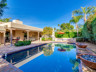 McCormick Ranch Stunner with HEATED POOL + PRIVATE BEDROOM CASITA!
