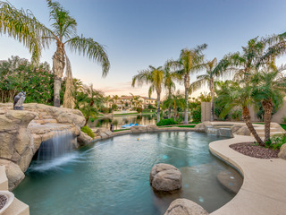 On The Water In Ocotillo! 4 Bedroom with Pool, Spa & A Paddle Boat. 30 Night Minimum Stay!