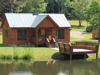 Secluded, Cozy, Cabin- Seven Springs- Sleeps 4