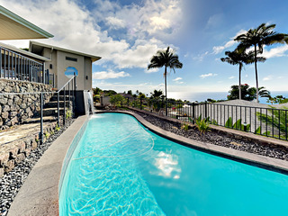 'Aniani Hale'- The Glass House- Views, Pool, Spa