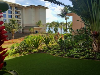 Honua Kai- Hokulani 108- Ground Floor & Huge Play Lawn! 1b/1b