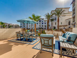 POOLSIDE RESORT CONDO with ENTERTAINERS PATIO in OCOTILLO! Minimum Stay 30 Nights!