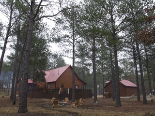 Running Bear Lodge Broken Bow