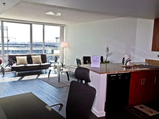 1 Bedroom Downtown fully furnished Apt with City View