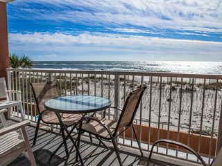 Directly on the Gulf (#202)- BEACHFRONT- Sleeps 6