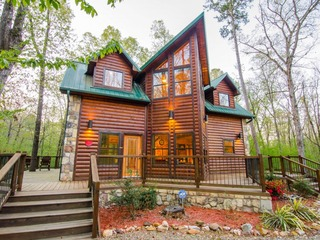 Dream Time Retreat (1 Bdrm)(Luxury Cabin) (HOT TUB)