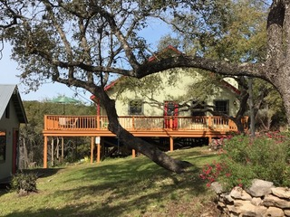Enjoy Treetop Views From the Deck of Casa Canalak
