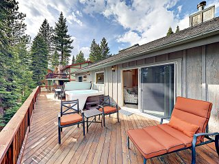 New Listing! Lake Tahoe Treasure w/ Hot Tub
