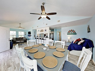 Brand-New Sea Isle Stilted Home, Walk to Beach