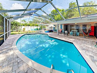 New Listing! Coastal-Chic Retreat w/ Pool & Grill
