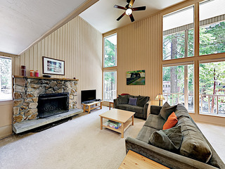 New Listing! Alpine Getaway w/ Hot Tub, Near Lake