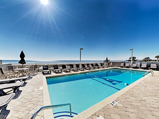 New Listing! Beachfront Penthouse w/ Ocean Views
