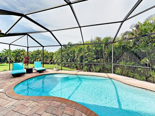New Listing! Upscale Home w/ Caged Pool & Lanai