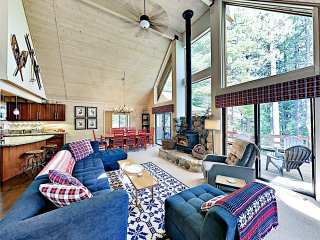 New Listing! Modern Cabin w/ Pool & Private Garage