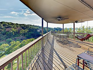 New Listing! Lakeside Palace w/ Hill Country Views