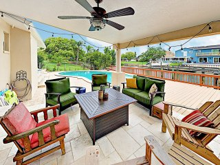 New Listing! Upscale Canal Home w/ Pool & Dock
