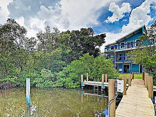 New Listing! Beach Home w/ Canal Views & Boat Dock