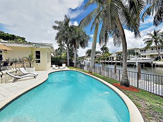 New Listing! Seven Isles Haven w/ Pool & 75' Dock