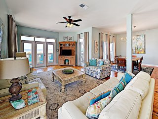New Listing! Gulf-View Beachfront Getaway w/ Pool