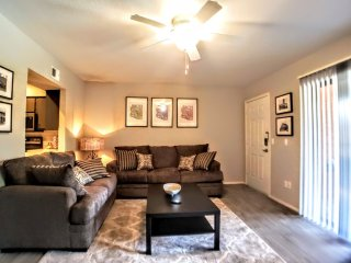 Fresh/Modern 1Bed/1Bath Apt, ASU, King Bed-A1