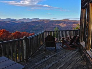 Heaven's Gait-Mountain Log Cabin,HotTub,Views