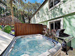 New Listing! Updated Duplex w/ Private Hot Tub