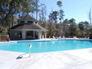 Villa in Sea Pines with Onsite Pool, Hot Tub and Tennis