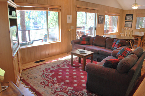 Cabin #64 River Lodge Vacation Rental in Yosemite - RedAwning