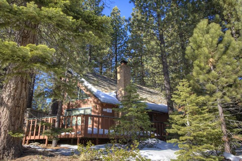 Wonderful Cabin with Hot Tub, Next to National Forest Vacation Rental in South Lake Tahoe, CA - RedAwning