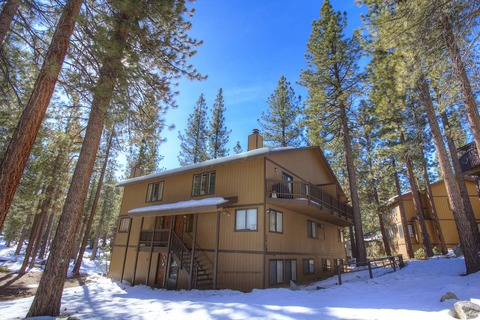 Spacious Lake Village Condo with Forest Views Vacation Rental in Stateline - RedAwning