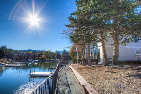 Tahoe Keys Home with Private Boat Dock and Views Vacation Rental in Tahoe Keys - RedAwning